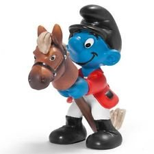 Hobby Horse Smurf