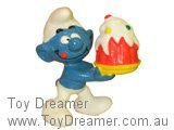 Smurf cake toppers