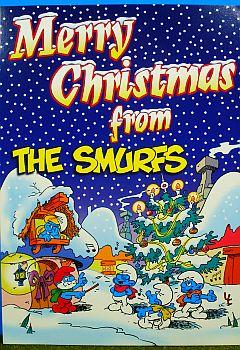 Christmas Smurf