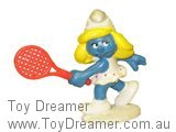 tennis smurfette